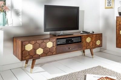 Designový TV stolek Justice 140 cm akácie