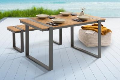 Designový zahradní stůl Gazelle 123 cm Polywood