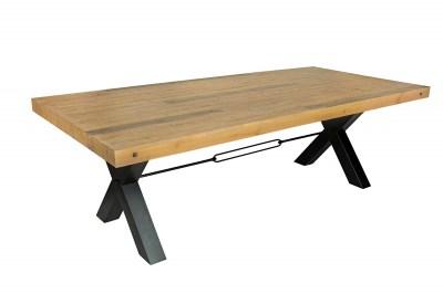 Designový jídelní stůl Thunder 240 cm přírodní - borovice