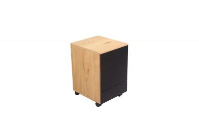 Rohový kancelářský stůl Kiana vzor dub