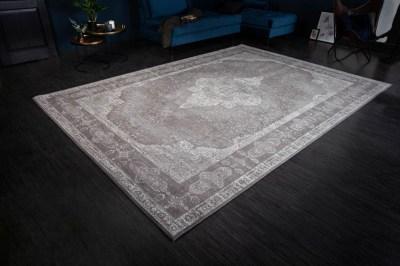 Designový koberec Rex 350 x 240 cm světle šedý