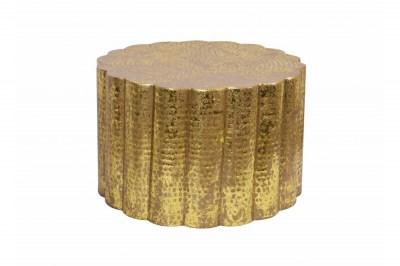 Designový konferenční stolek Gwendolyn 60 cm zlatý