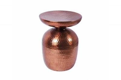 Designový odkládací stolek Malia 36 cm měděný