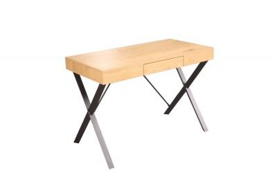 Designový psací stůl Kiana 110 cm vzor dub