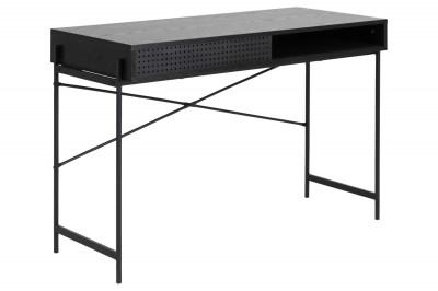 Designový psací stůl Naarah 110 cm černý