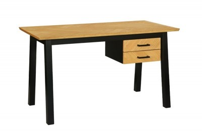 Designový psací stůl Nazy 130 cm vzor dub