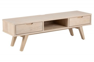 Designový TV stolek Agni 150 cm světlý dub