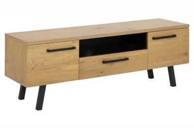 Designový TV stolek Marlon 140 cm divoký dub