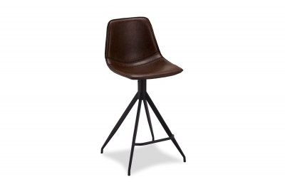 Designová barová židle Aeron, tmavohnědá