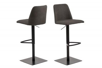 Designová barová židle Alasdair antracitová