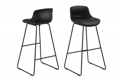 Designová barová židle Alphonse černá