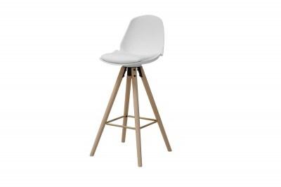 Designová barová židle Nerea bílá