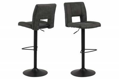 Designová barová židle Nerine antracitová