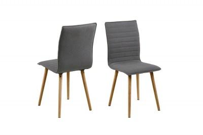 Designová jídelní židle Alberic světlešedá