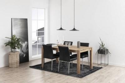 Designová jídelna židle Neriah černá
