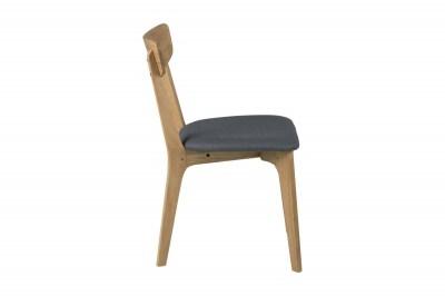 Dizajnová jedálenska stolička Niharika, dubová