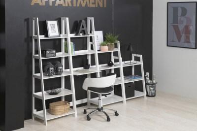 Designová kancelářská židle Natania bílá