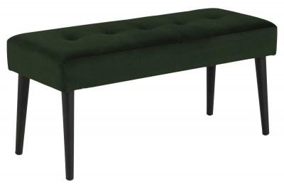 Designová lavička Neola lesní zelená