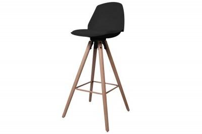 Designová pultová stolička Nerea černá