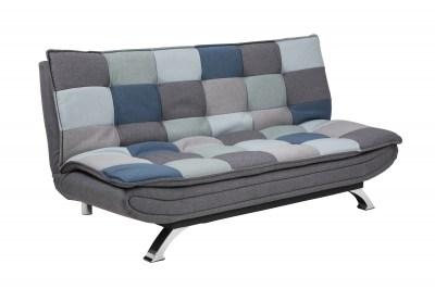 Designová rozkládací sedačka Alun 196 cm patchwork