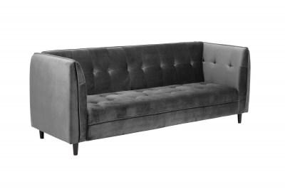 Designová rozkládací sedačka Alwyn 235 cm tmavě šedá