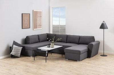 Designová sedací souprava nana 297 cm levá šedá