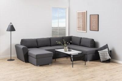 Designová sedací souprava nana 297 cm pravá šedá