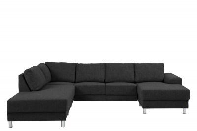 Designová sedací souprava Nim antracit 286 cm L