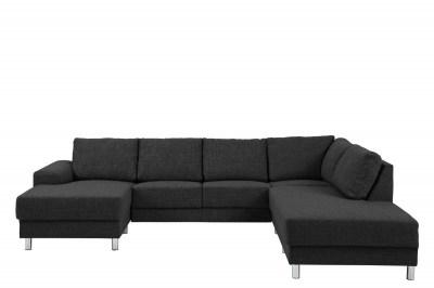 Designová sedací souprava Nim antracit 286 cm P