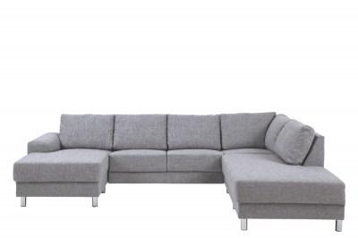 Designová sedací souprava Nim světlešedá 286 cm P