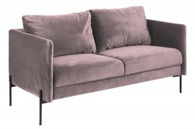 Designová sedačka Noomi světle růžová