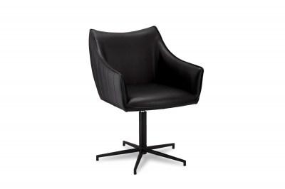 Designová stolička Abanito, černá