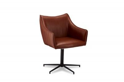 Designová stolička Abanito, světlehnědá