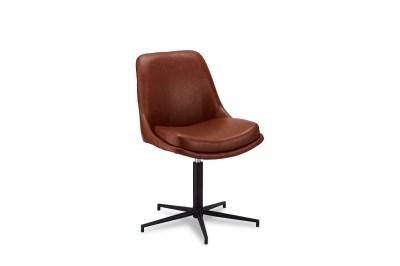 Designové židle Aeneas světlehnědá