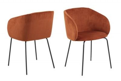 Designová židle Albee měděná