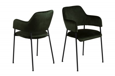 Designová židle Albus olivově zelená