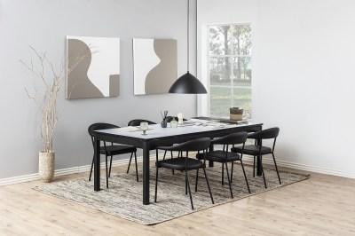 Dizajnová stolička Alder, čierna