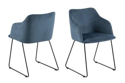 Designové židle Aleem tmavomodrá