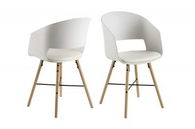 Designová židle Alexei bílá