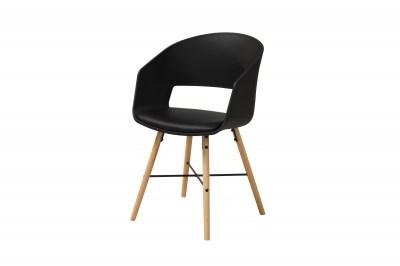 Designová židle Alexei černá