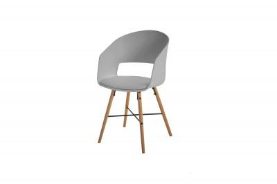 Designová židle Alexei šedá
