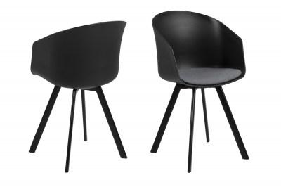 Designová židle Almanzo černá