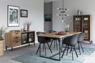 Designová stolička Almanzo černá