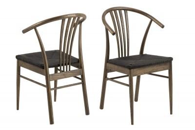 Designové židle Altair tmavý dub