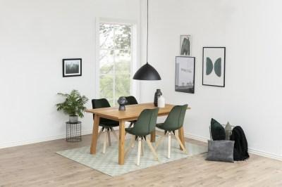 Dizajnová stolička Nascha, lesno zelená
