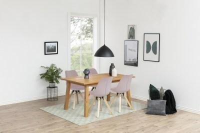 Designová židle Nascha světlo růžova