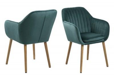 Designová židle Nashira lahvově zelená VIC