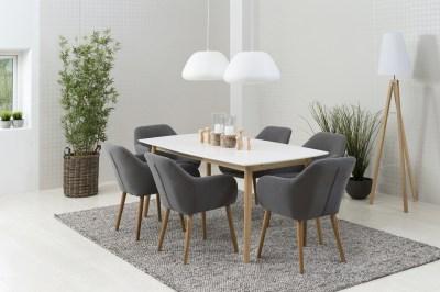 Designová židle Nashira tmavě šedá