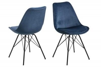 Designová židle Nasia navy modrá