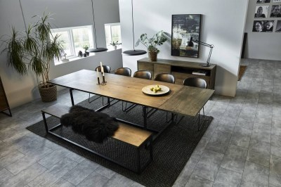 Dizajnová stolička Nerilla, brandy